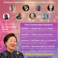 RALLY OF HOPE and CONVOCATION 2020